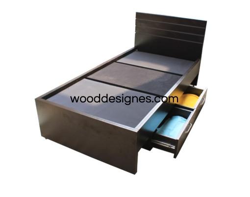 Alicia series 3x6 storage bedDarkbrown BD105 95000