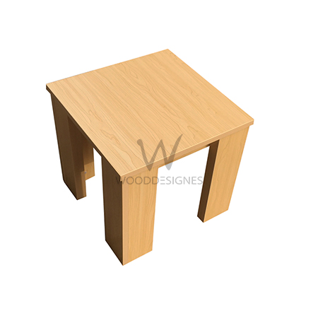 Nadia Series; Side Table(Maple)