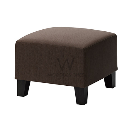 fabric covered ottoman brown fabric covered ottoman plain wooddesignes 15178 | d 1