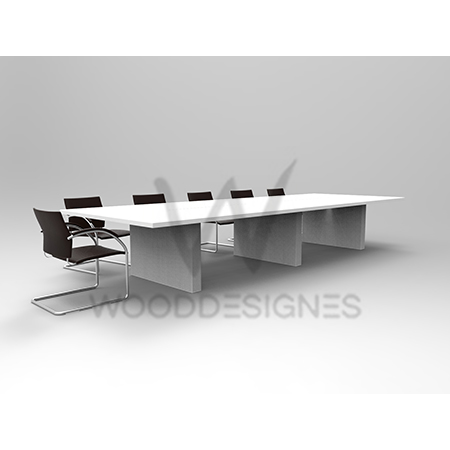 Montag Series Conference Table White Wooddesignes - Detachable conference table